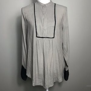 Free People Long Sleeve Blouse Modest Small